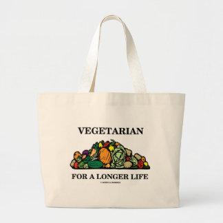 Vegetarian For A Longer Life (Vegetarian Attitude) Bags