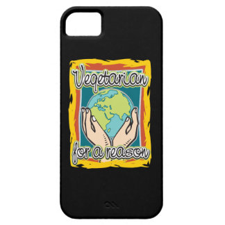 Vegetarian for a Reason iPhone 5 Covers