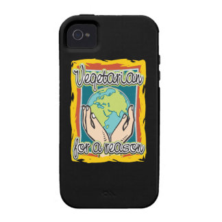 Vegetarian for a Reason iPhone 4/4S Cover