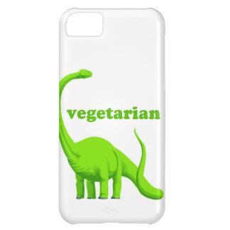 """Vegetarian"" Funny Dinosaur iPhone 5 Case"