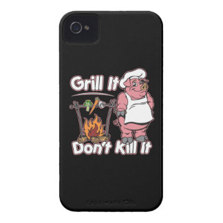 Vegetarian Grill It Don't Kill It iPhone 4 Case-Mate Case