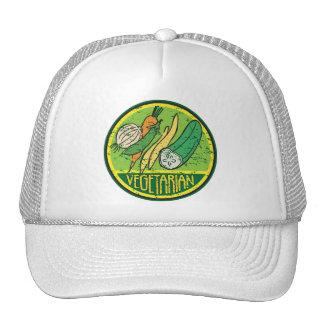 Vegetarian Grunge Mesh Hat