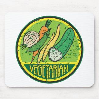 Vegetarian Grunge Mousepad