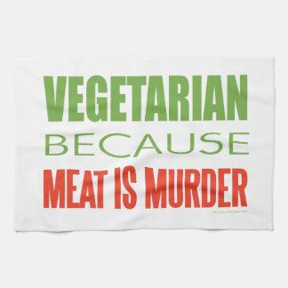 Vegetarian Hand Towels