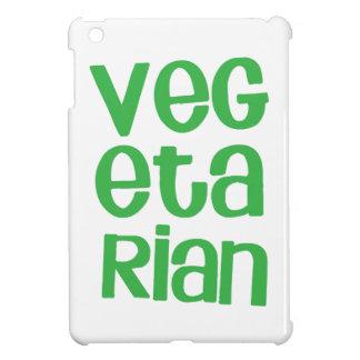 VEGETARIAN in green Cover For The iPad Mini