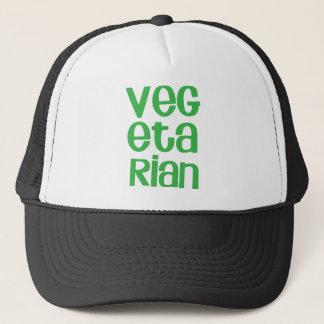 VEGETARIAN in green Trucker Hat