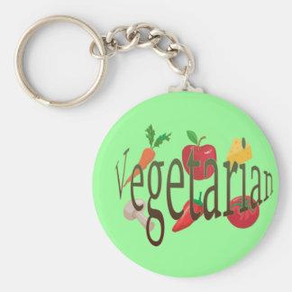 Vegetarian Keychain
