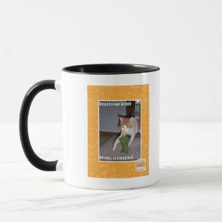 Vegetarian Kitteh Mug