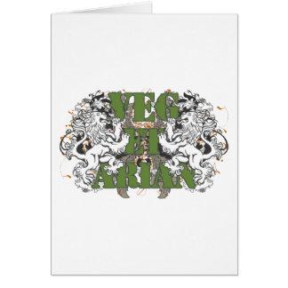 Vegetarian Lions Card