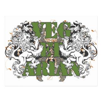 Vegetarian Lions Postcard