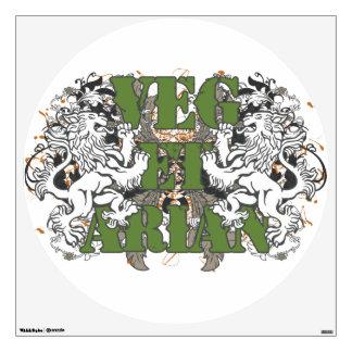 Vegetarian Lions Wall Sticker