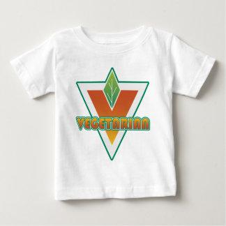 Vegetarian Logo Baby T-Shirt