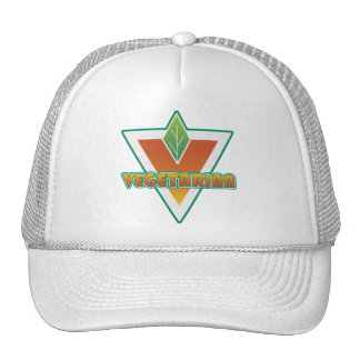 Vegetarian Logo Mesh Hat