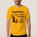 Vegetarian/Lousy Hunter Tee Shirt
