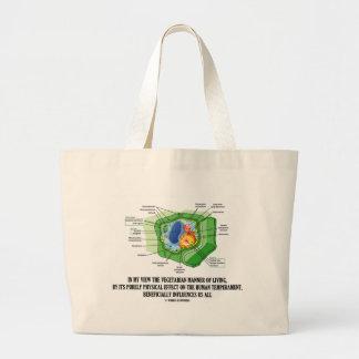 Vegetarian Manner Of Living Human Temperament Bags