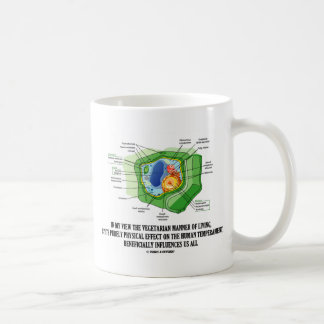 Vegetarian Manner Of Living Human Temperament Coffee Mug