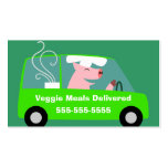 Vegetarian Meal Delivery Business Business Card