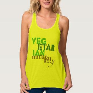Vegetarian Naturally Flowy Racerback Tank Top