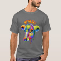Vegetarian, Not Food, Vegan, Veg, Animal T-Shirt