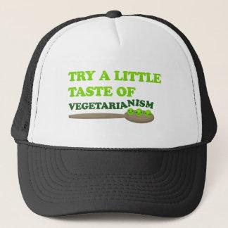Vegetarian Peas Trucker Hat