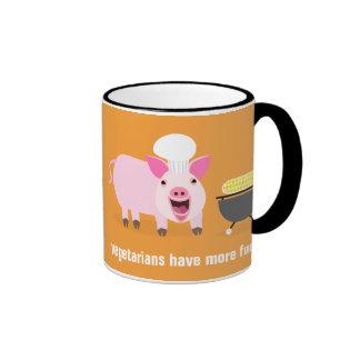 Vegetarian Pig Mug