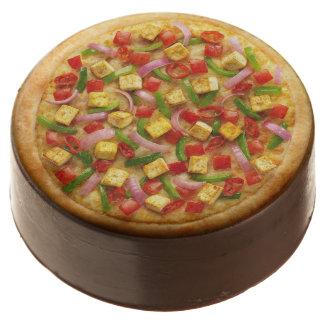 Vegetarian Pizza Chocolate Dipped Oreo
