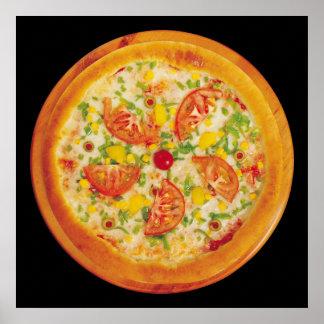 Vegetarian Pizza Poster