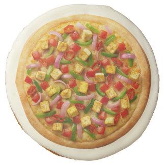 Vegetarian Pizza Sugar Cookie
