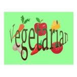 Vegetarian Post Cards