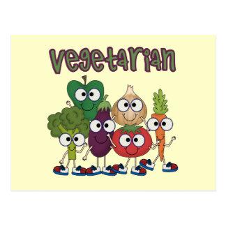 Vegetarian Post Card