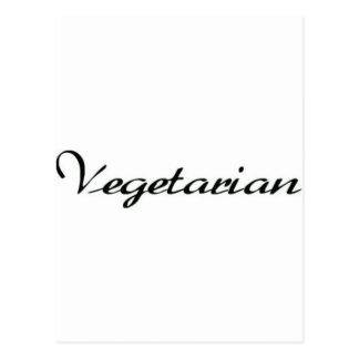Vegetarian Postcard