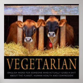 Vegetarian! Print