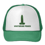 Vegetarian Power Trucker Hat
