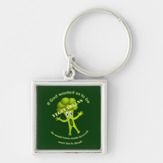 Vegetarian Quote Keychain