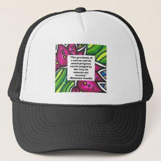 Vegetarian Quote Trucker Hat