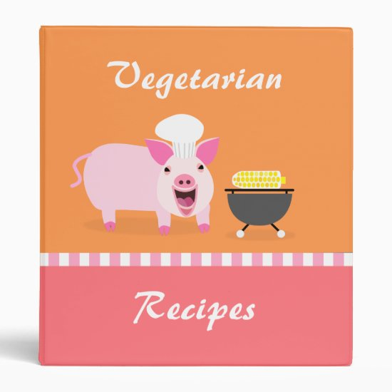 Vegetarian Recipe Binder