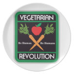 Vegetarian Revolution Party Plate