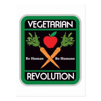 Vegetarian Revolution Postcard