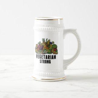 Vegetarian Strong Beer Stein