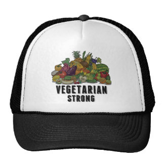 Vegetarian Strong Trucker Hat