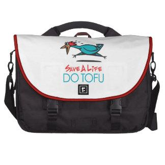 Vegetarian Tofu Commuter Bags