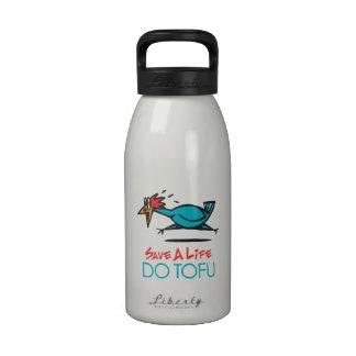 Vegetarian Tofu Drinking Bottles