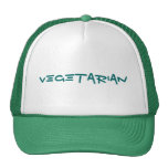 vegetarian trucker hat