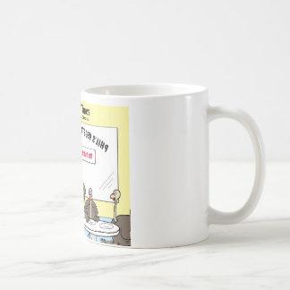 Vegetarian Turkey Offbeat Cartoon Funny Gifts Coffee Mug