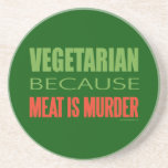 Vegetarian, Vegan, Animal RIghts Drink Coasters