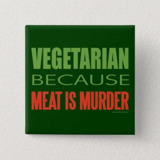 Vegetarian, Vegan, Animal RIghts Pinback Button