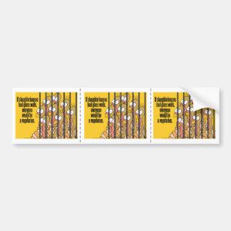 Vegetarian, Vegan Bumper Sticker