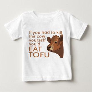 Vegetarian Vegan Meat Tofu Baby T-Shirt