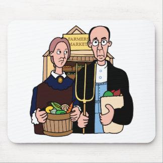Vegetarian Vegan Mouse Pad