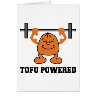 Vegetarian Vegan Tofu Powered Card